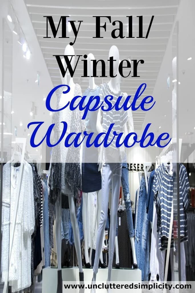 fall capsule wardrobe | winter capsule wardrobe | project 333 | what I own | minimalist clothing #capsulewardrobe #project333 #winterclothes