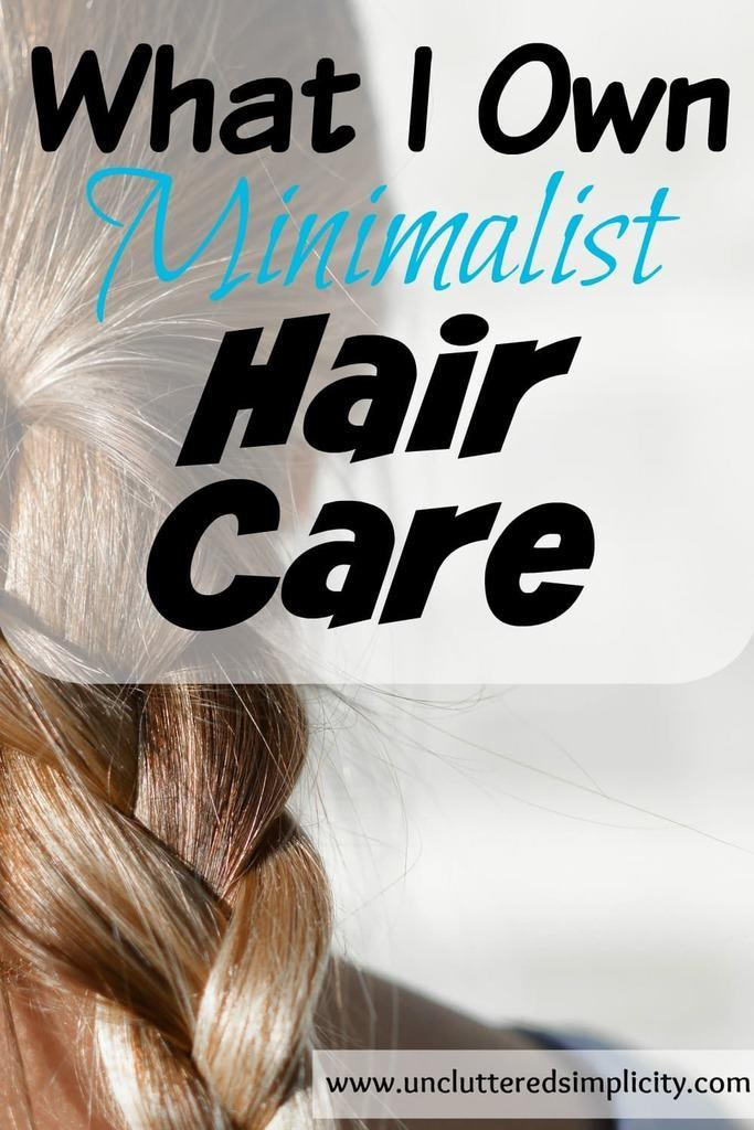 Products and services I use for my minimalist hair care routine. A sneak peak at the 10 items I use daily and how I save money at the salon. #minimalism #minimalist #haircare