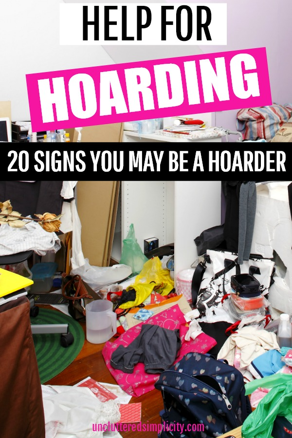 Hoarding affects over 15 million people in America. Are you one of them?