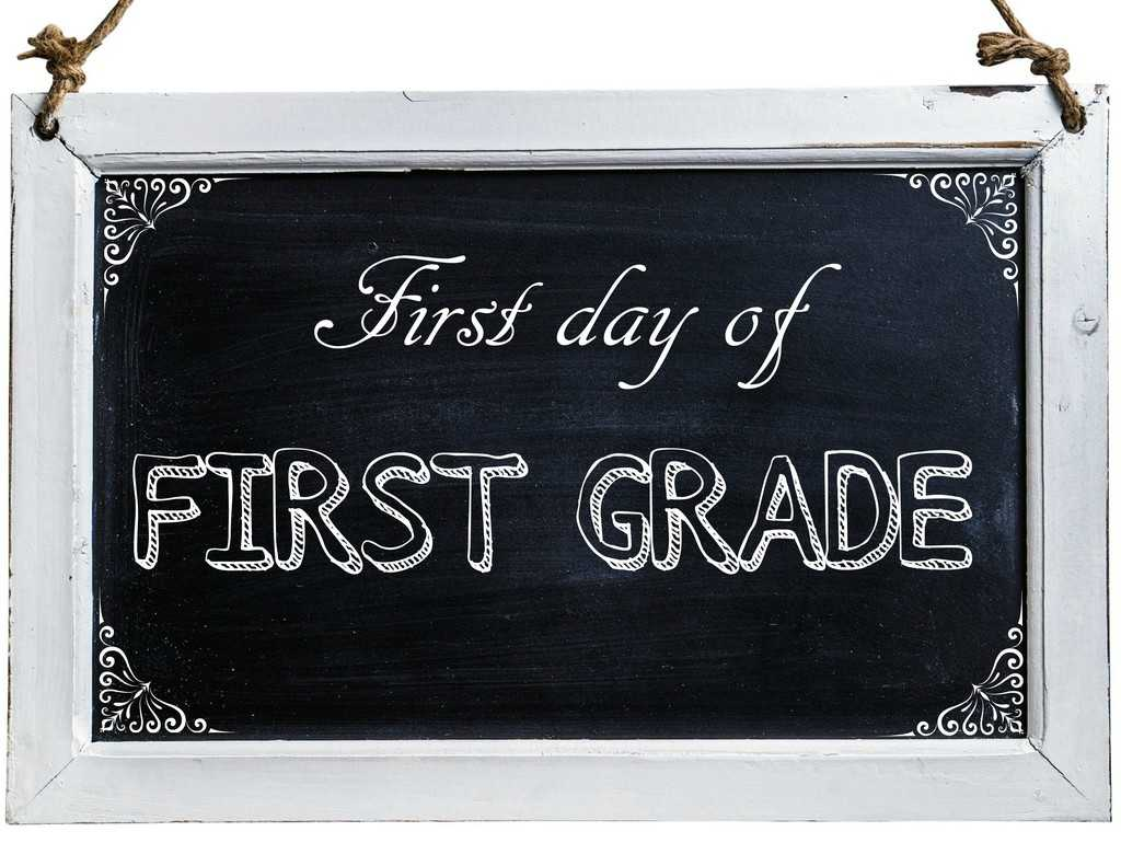 Free First Day of School Photo Printables-1st