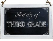 Free First Day of School Photo Printables-3rd