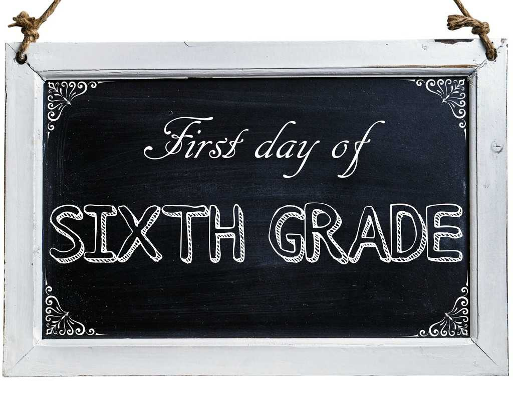 Free First Day of School Photo Printables-6th