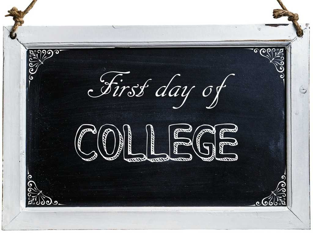 Free First Day of School Photo Printables-college