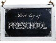 Free Back to School Photo Printables-Preschool