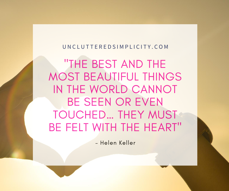 Inspirational Printable Quote by Helen Keller