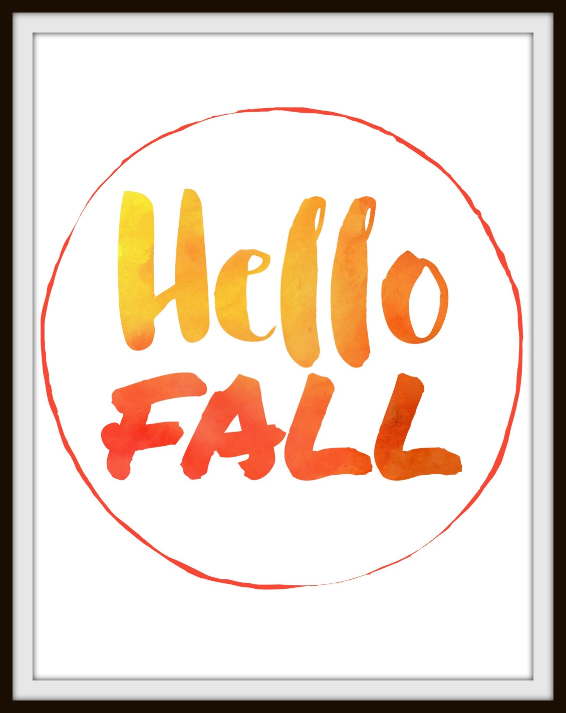 10 Free Fall Printables