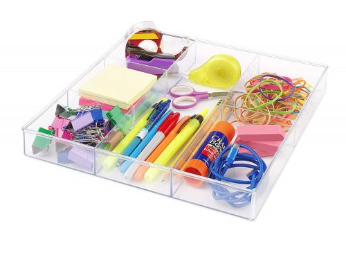acrylic drawer organizer | Gift Guide for Messy People