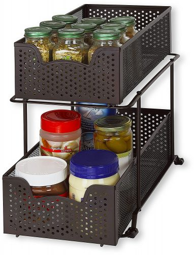 under sink organizer for kitchen | Gift Guide for Messy People