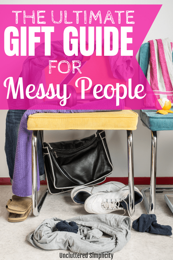 Gift Guide for Messy People. Gift ideas for the chronically disorganized.