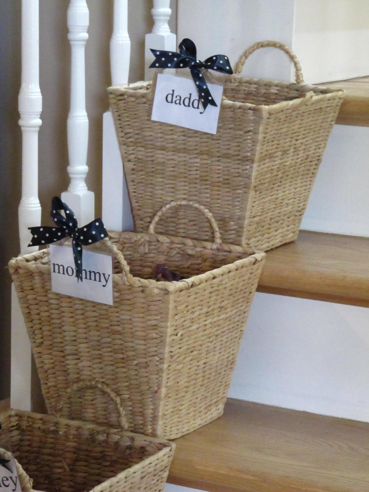Ways to Organize with Baskets