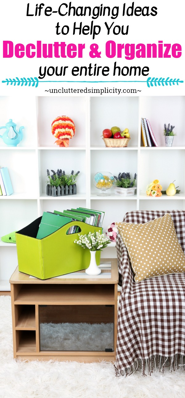 declutter tips | organize your home | how to declutter and organize | declutter paper | declutter clothes | organize kitchen | organize toys | free calendar | printables to help you stay organized | decluttering methods #declutter #organize #simplify