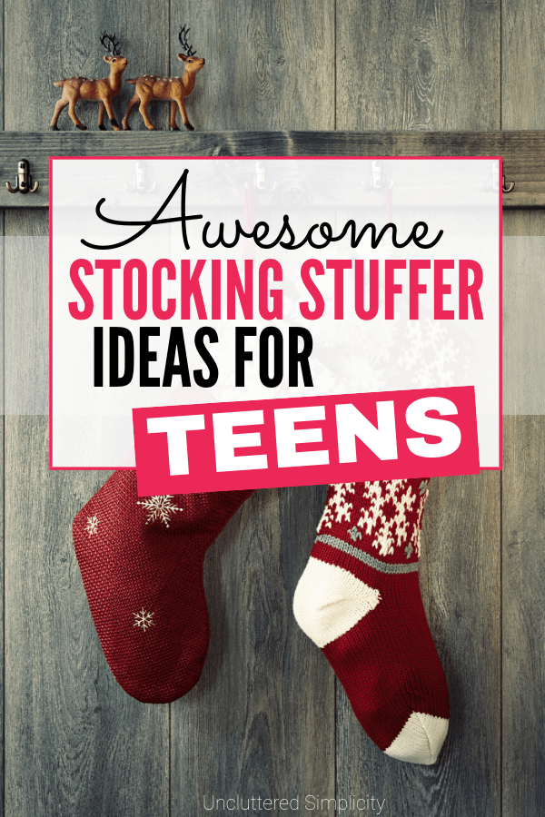 Stocking Stuffer Ideas For Teens: huge list of inexpensive gifts for teens