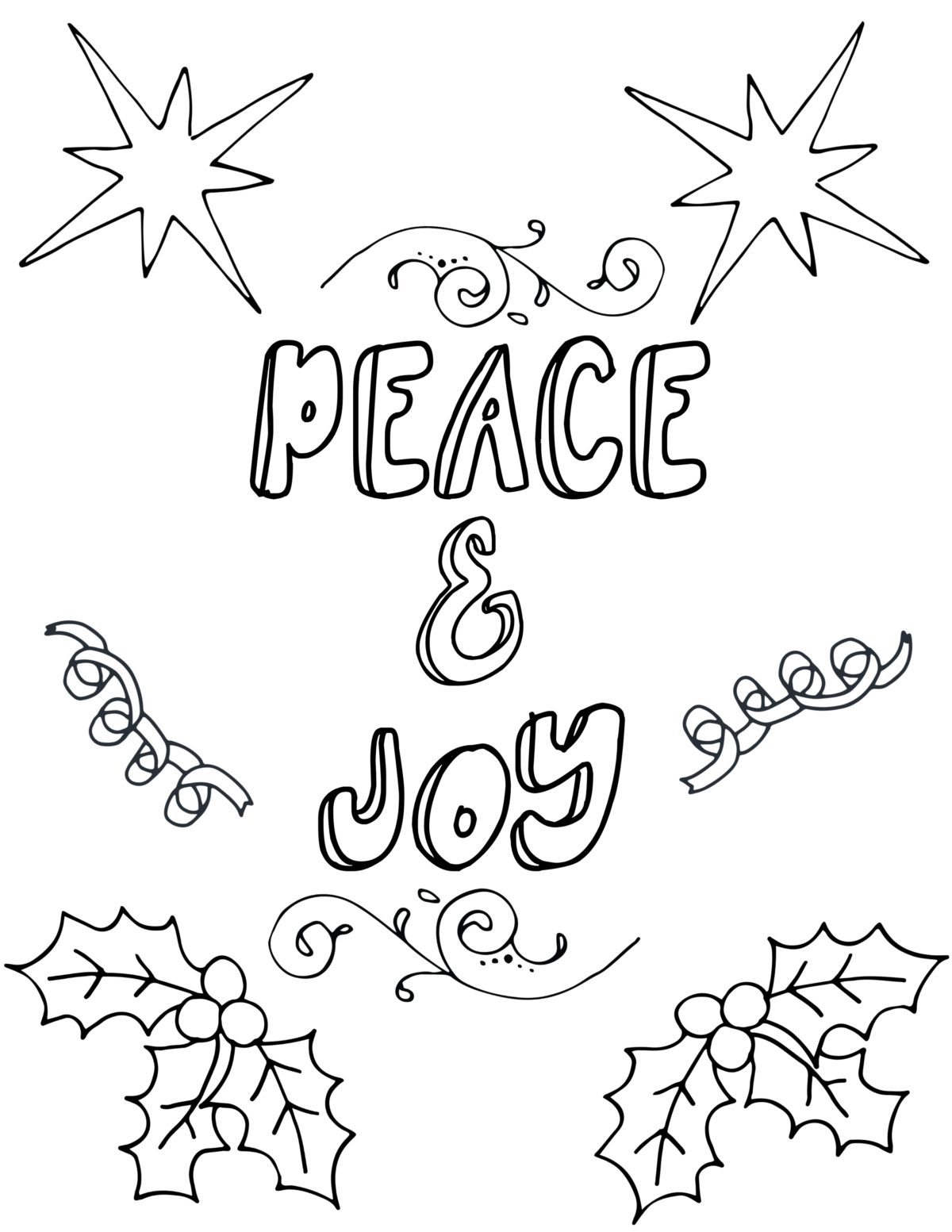 free printable christmas coloring page free printable coloring pages for adults 6603