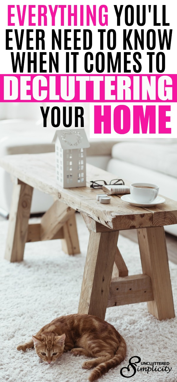 declutter | decluttering your home | how to declutter | best decluttering tips known to man | decluttering methods | clear the clutter | clutter free home | #declutter #decluttering #clutterfree