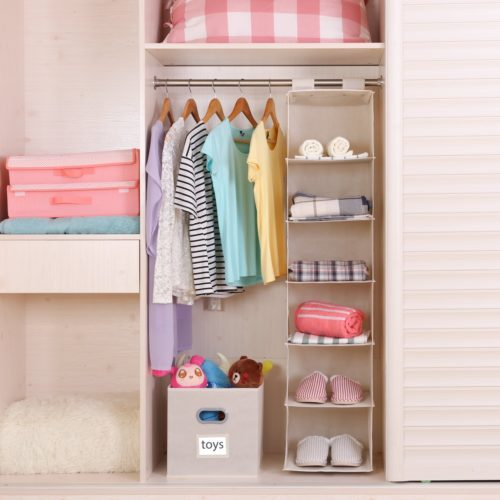 organize your closets