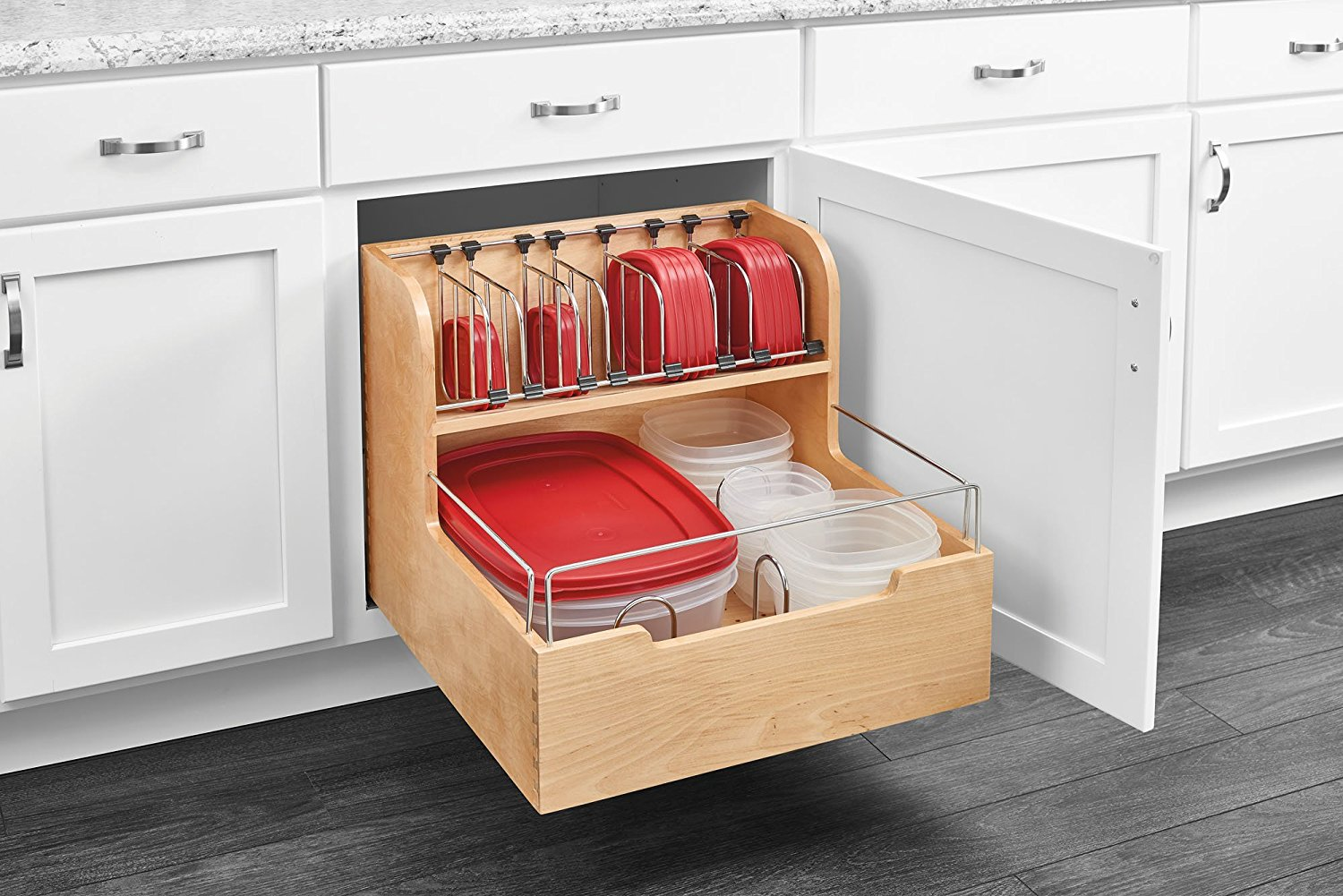 best kitchen storage 21 brilliant ways to organize kitchen cabinets you ll kick 1630