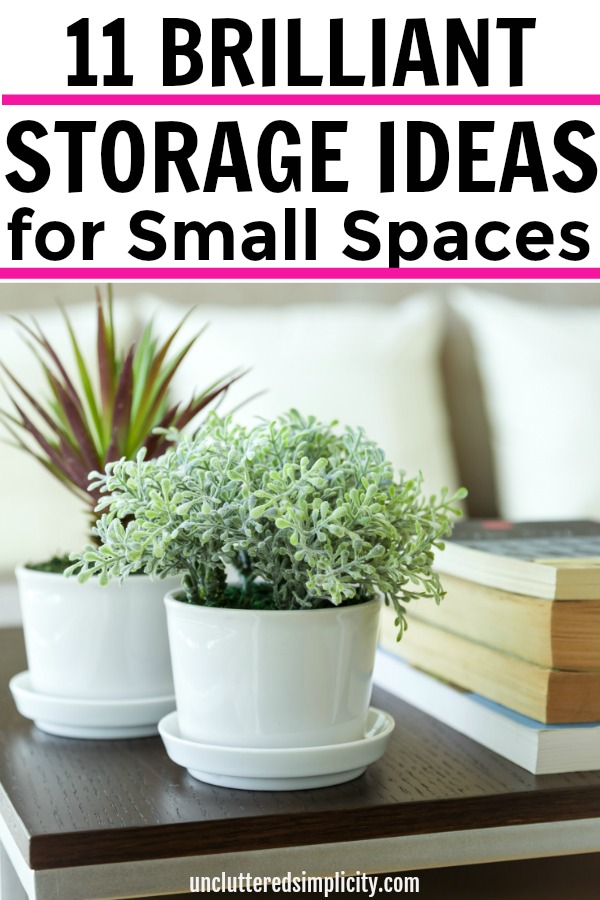 Storage solutions for small spaces you have to try-Organize your small space with these simple tips