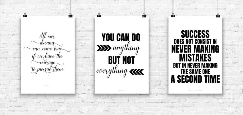 free printable quotes to motivate you