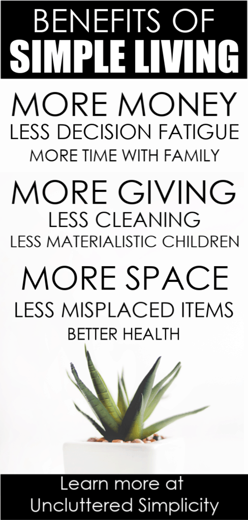 Simple living lifestyle tips everyone can do.