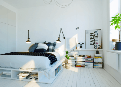 Looking for storage ideas for your bedroom? You need to check out these bedroom organization ideas! #bedroomorganization #bedroom