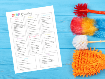 Free Printable House Cleaning Checklist To Help You Rock Spring Cleaning