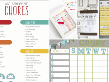 22 Free Printable Chores Charts For Kids Of All Ages