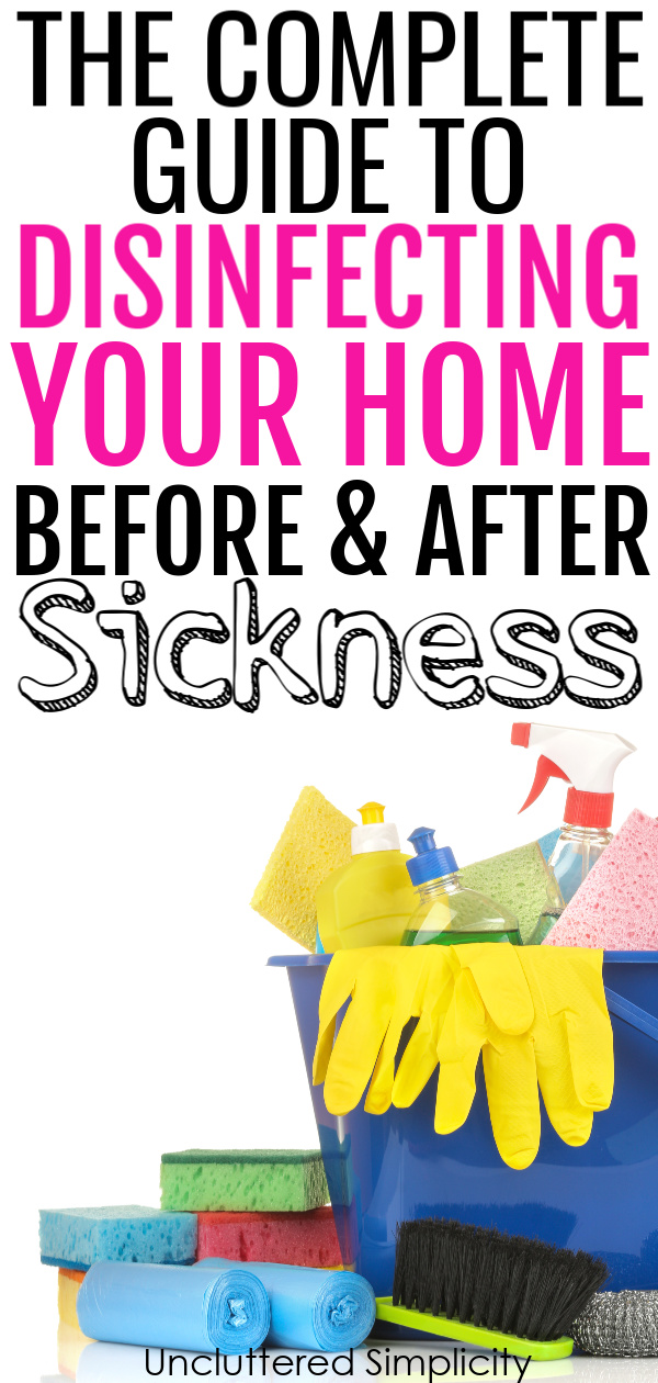 how to disinfect and sanitize your home