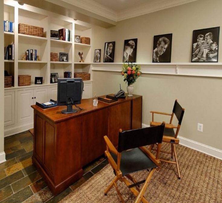 Home Office Idea: Basement