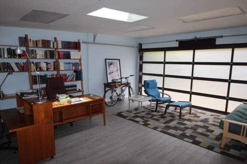 Home Office Idea Bonus: Garage