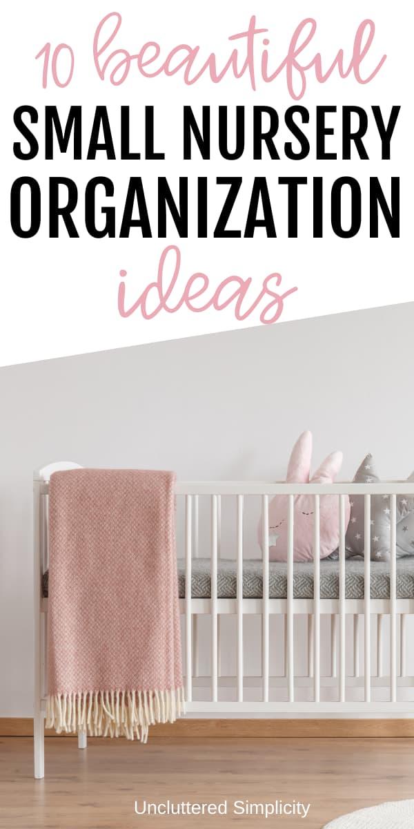 small nursury organization pin