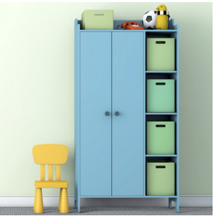 small kids room organization_featured image