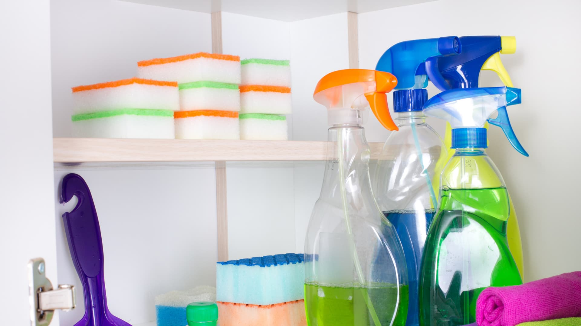 Small Utility Closet Organizing Ideas