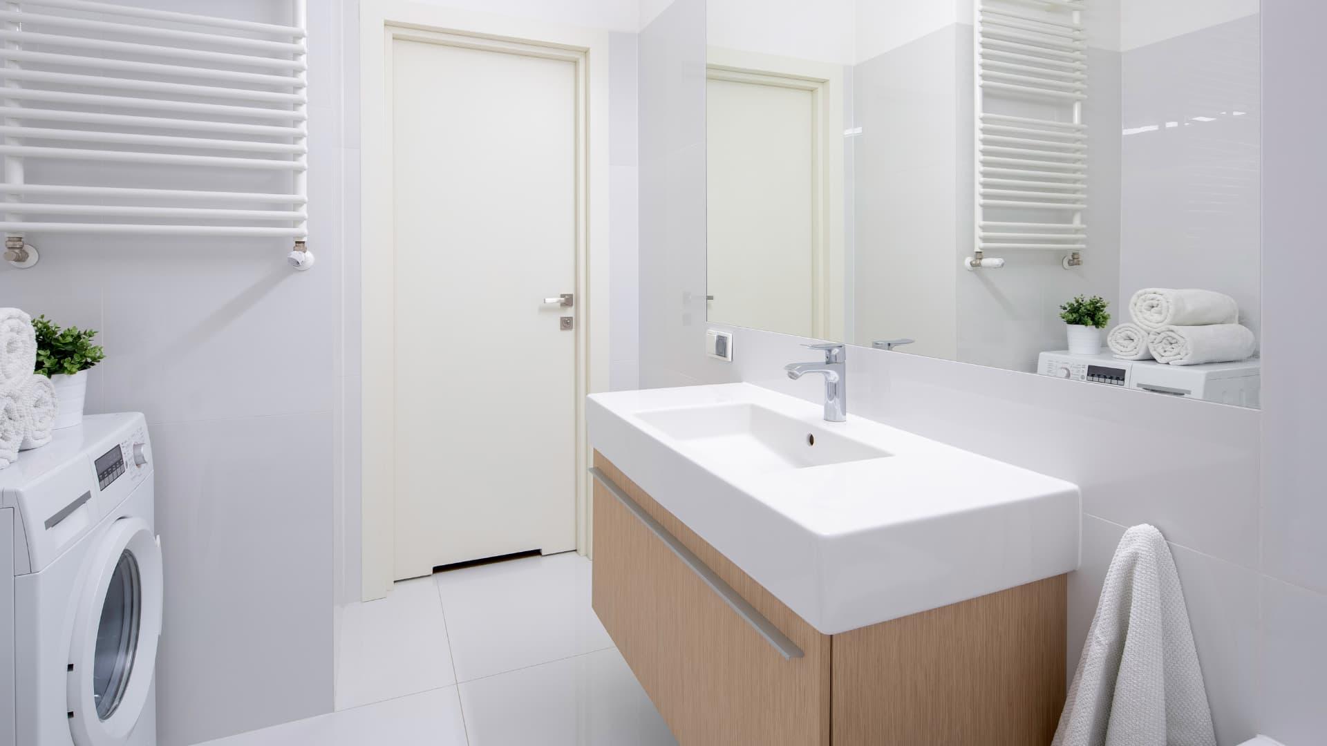 Bathroom laundry room