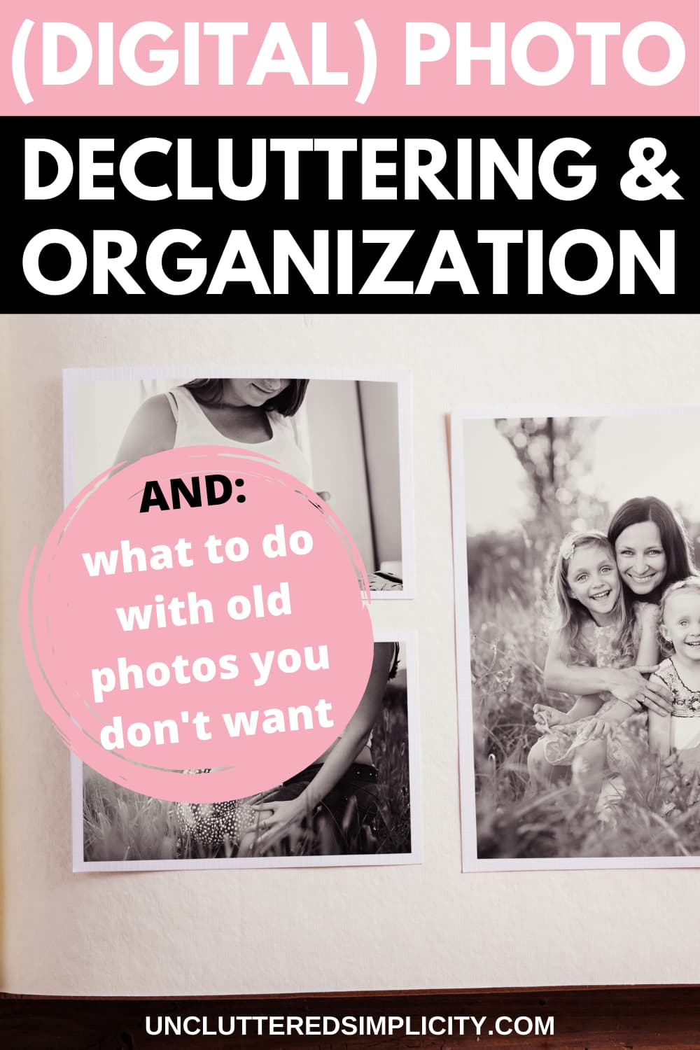 PIN_what to do with old photos you dont want